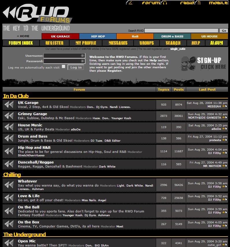rwd forum